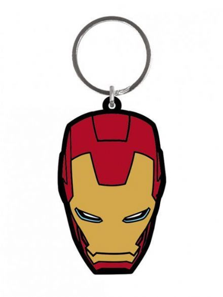 Marvel Iron Man Rubber Keychain